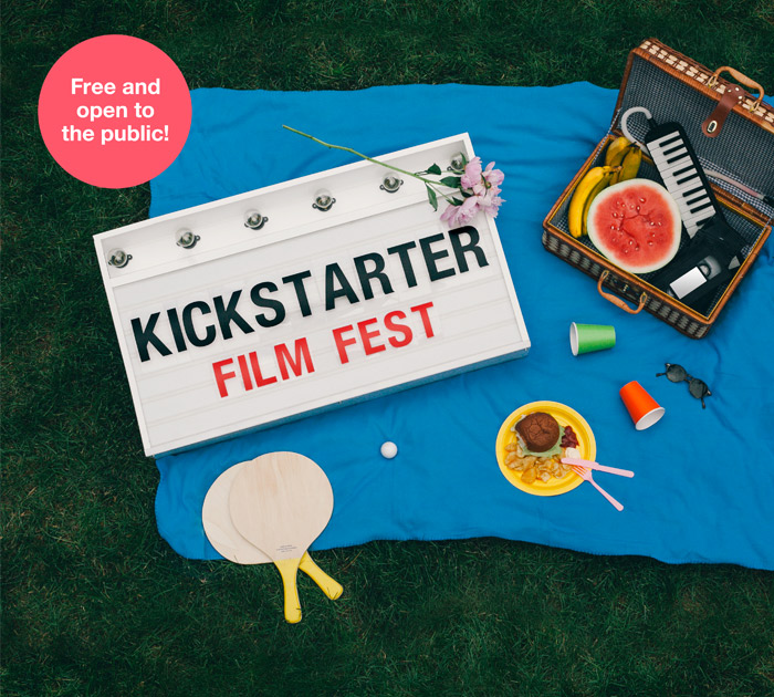 Kickstarter Film Fest - free and open to the public
