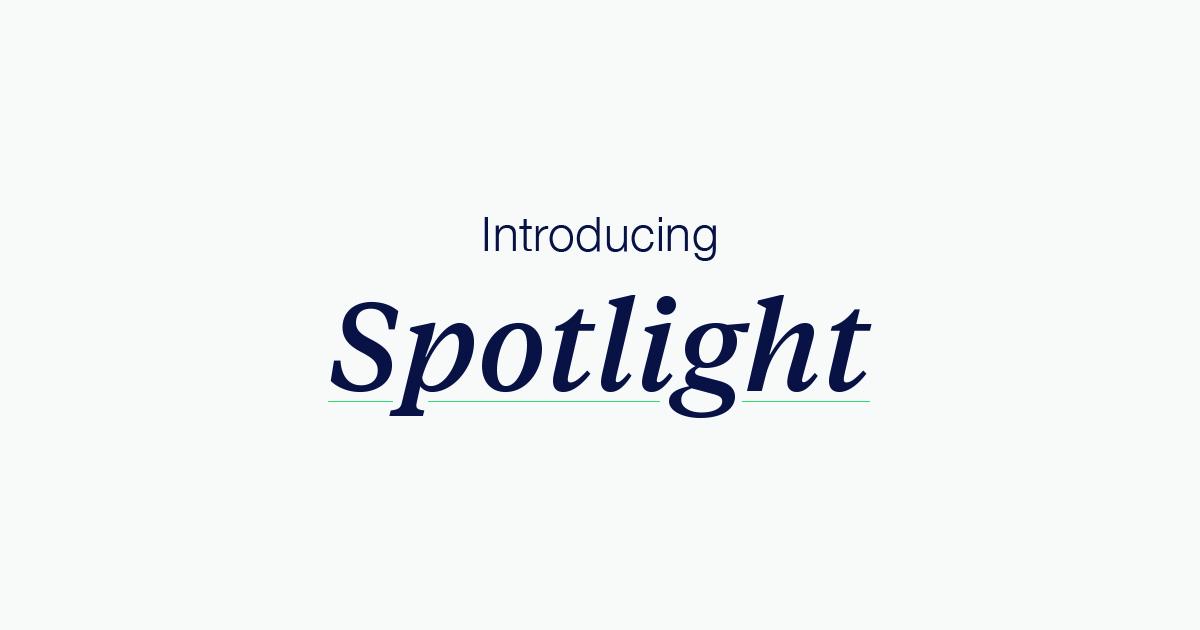 Spotlight  U2014 Kickstarter