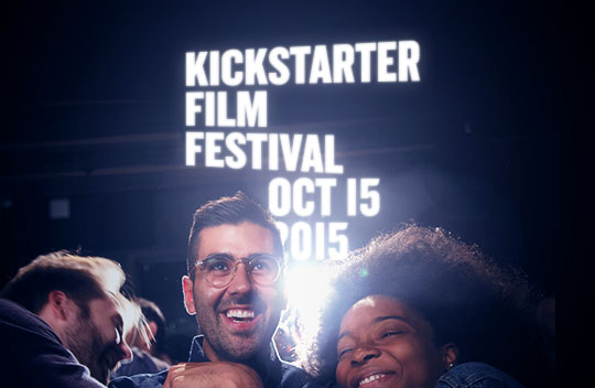 The Kickstarter Film Festival is coming your way.